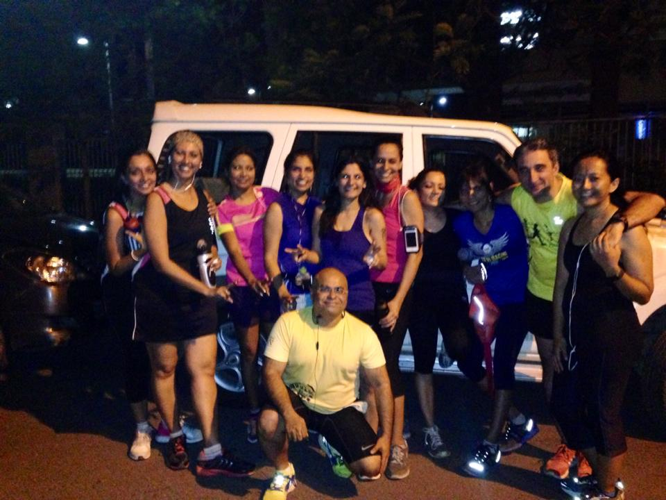 A really old pic of us night running