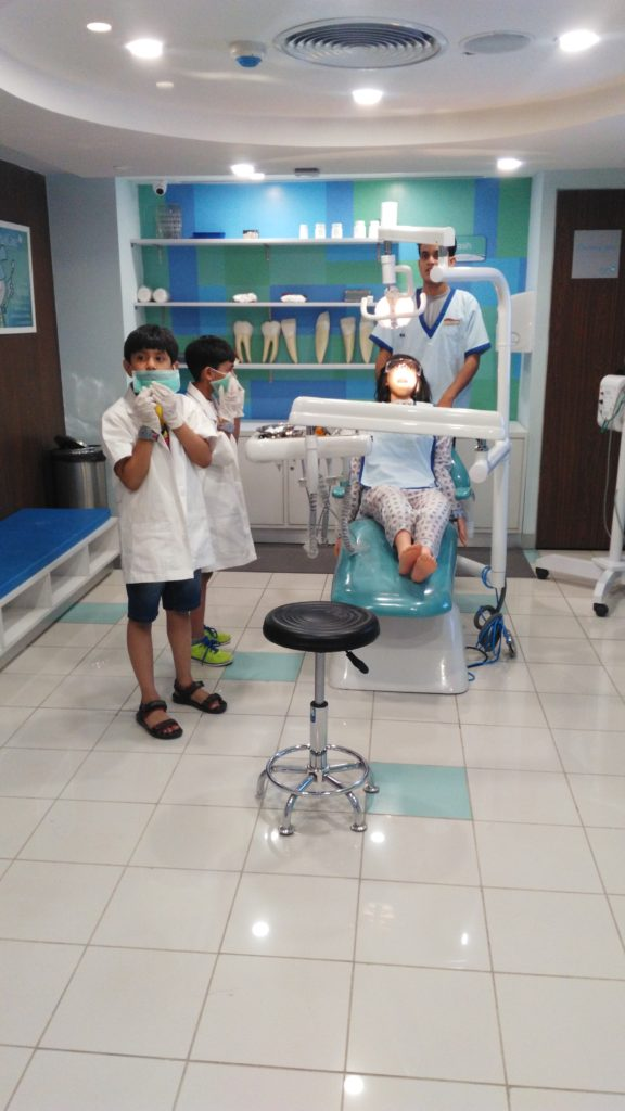 Being the dentist